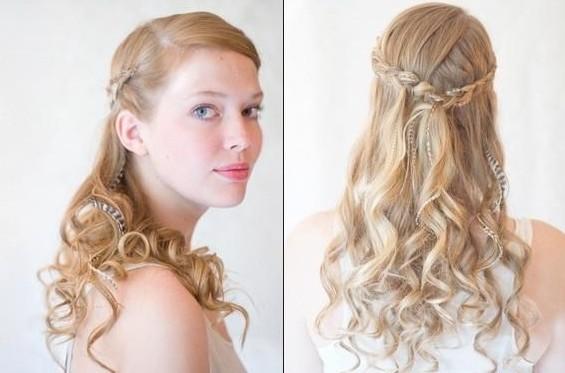 bridesmaids hairstyles for long hair tutorials