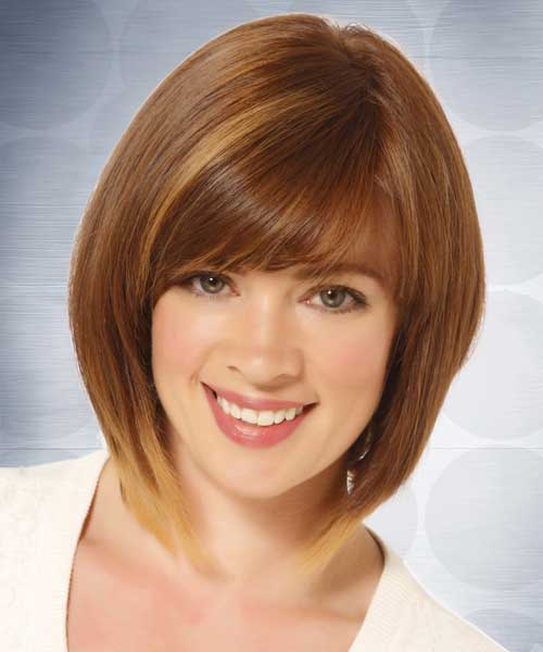 casual-short-straight-hairstyle