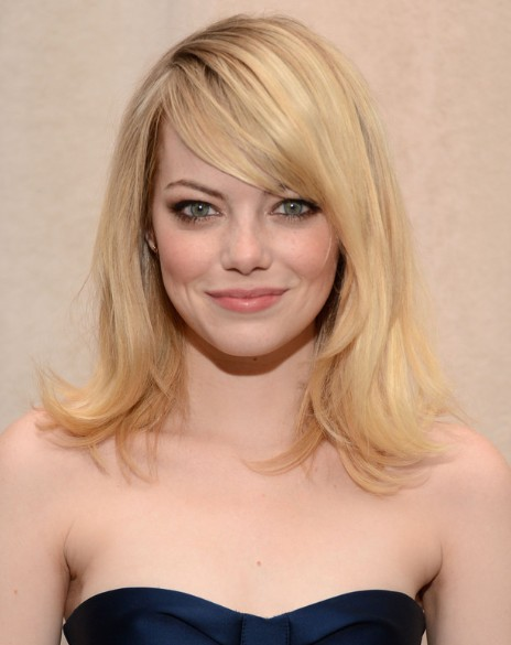 emma-stone-haircuts-with-side-bangs