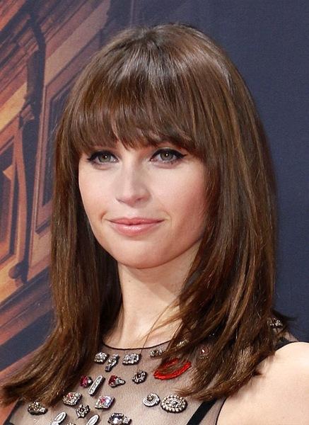 felicity-jones-long-straight-hairstyle