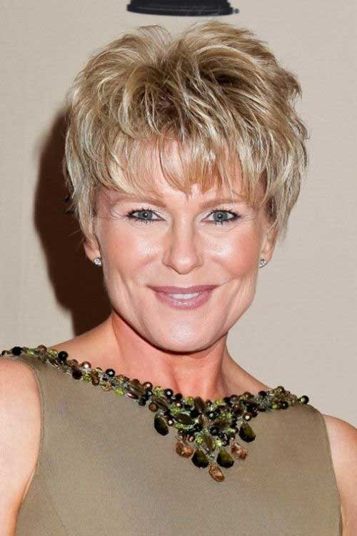 30 Hottest Short Layered Hairstyles For Women Over 50 Haircuts
