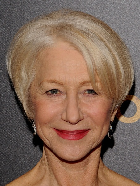 helen-mirren-short-straight-hairstyle