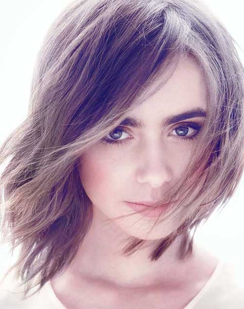 lily-collins-dramatic-shaggy-hairstyle