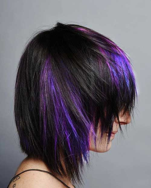 purple-lighted-shaggy-hairstyle