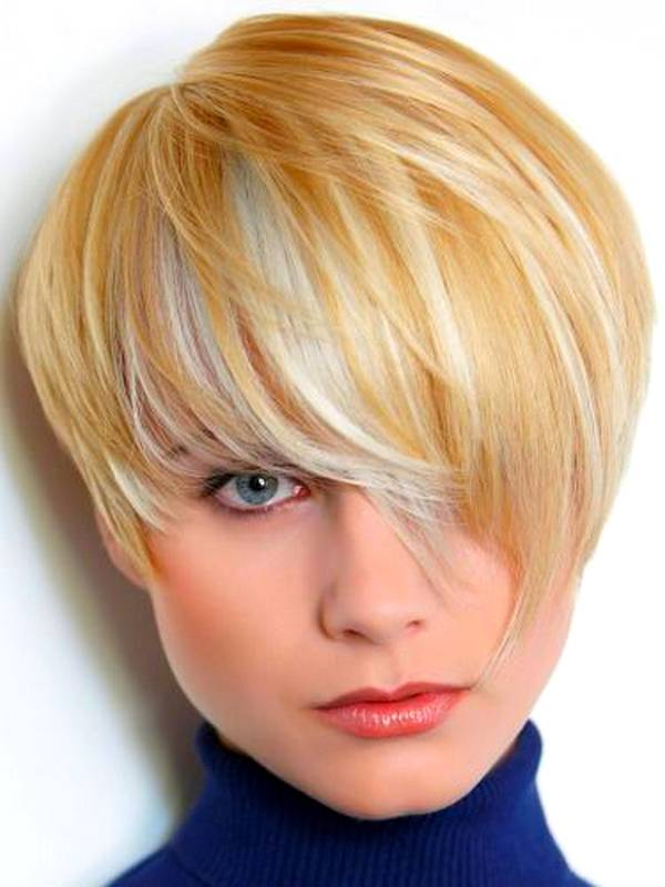 short-hairstyles-for-round-faces-in-cute-color