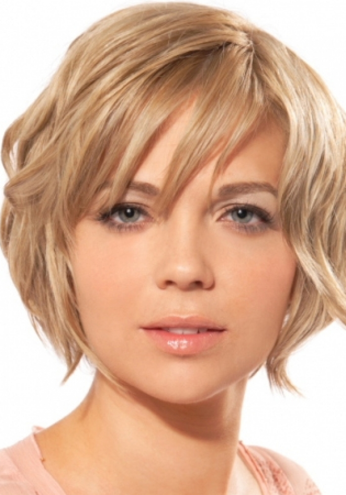 40 Gorgeous Short Hairstyles For Round Face Shapes Haircuts
