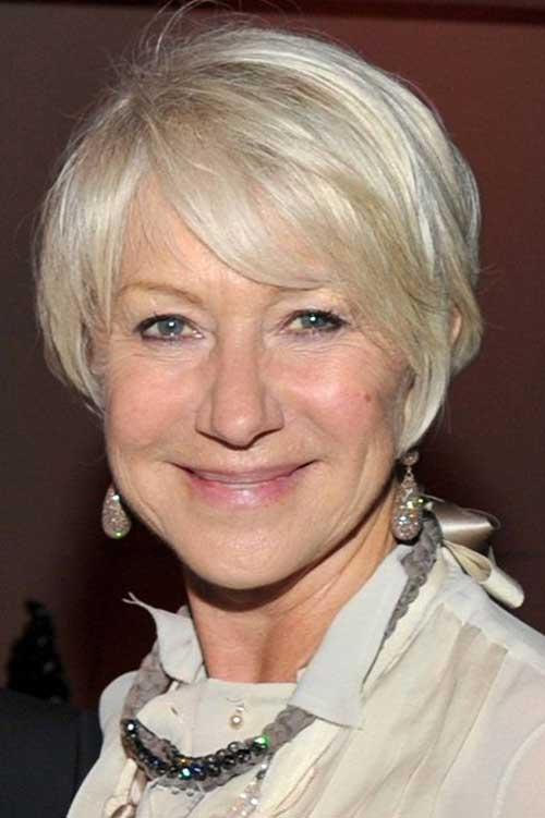 Fine Hair Pixie Haircuts For Older Women