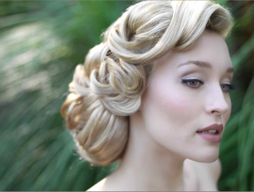 classic-hairstyles-for-bride