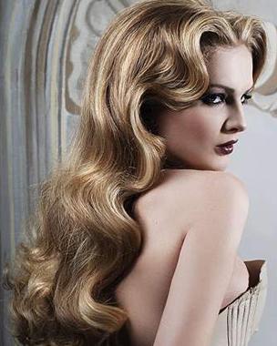 retro-curls