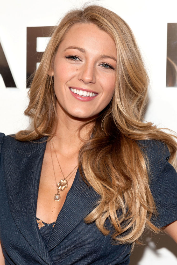 Blake Lively's Long Blonde Haircut