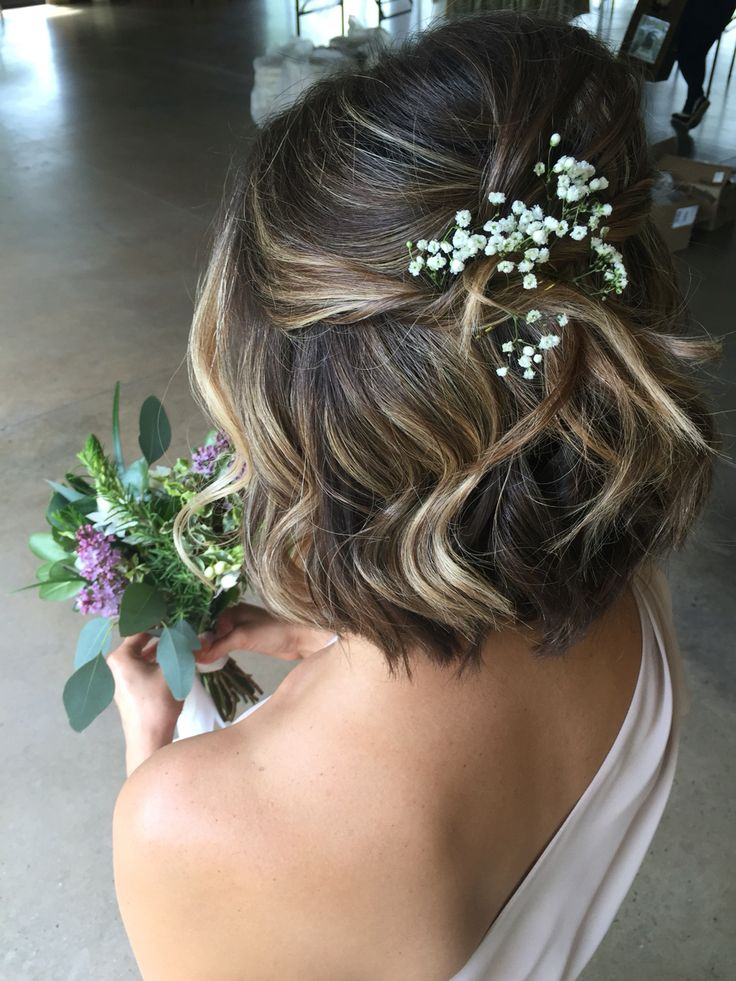 Formal Wedding Hairstyle for Short Hair