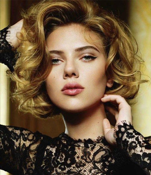21 Stylish And Glamorous Curly Bob Hairstyle For Women Haircuts