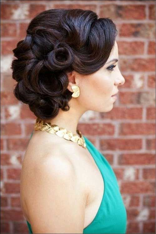 Retro Style Bridal Hairstyles