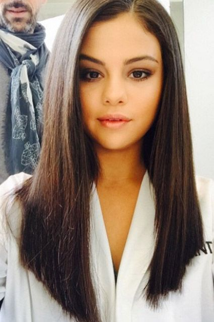 Selena Gomez Long Straight Haircut