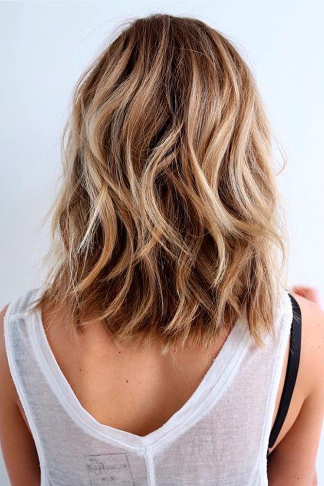 Wavy Hairstyle for Medium Hair