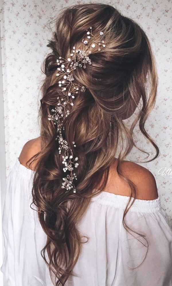 Bridal Hairstyle with Accessory
