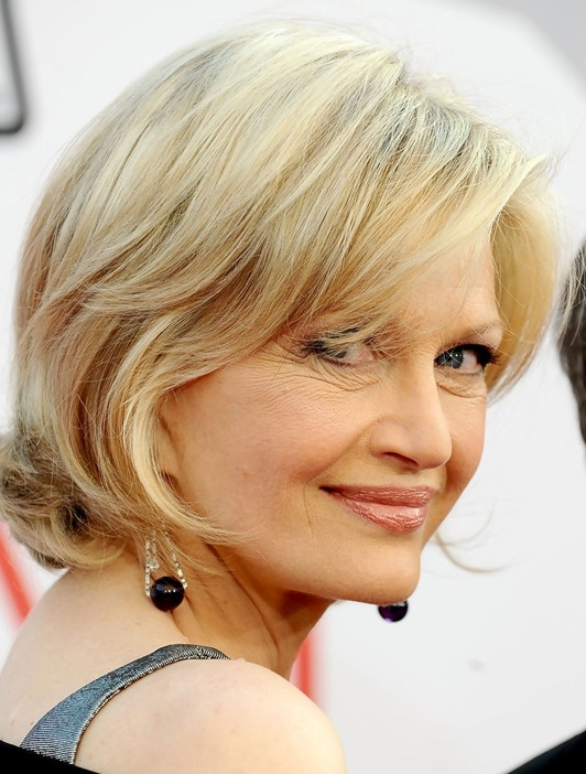 Cute Short Hairstyle for Women Over 40