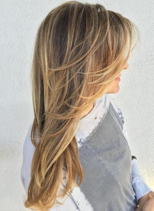 Layered Haircut for Long Fine Hair