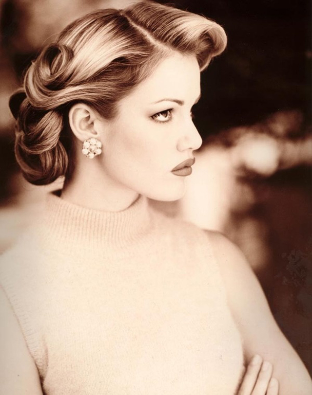 Retro Inspired Updo