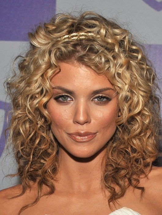 Reverse Ombre Medium Curly Hair