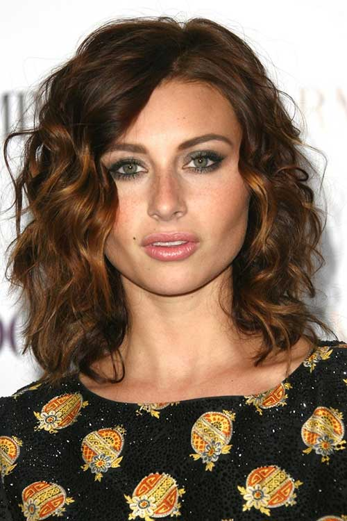 Short to Medium Curly Haircut