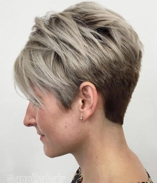 Short Layered Hair