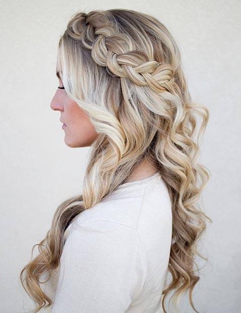 Loosely Braided Crown