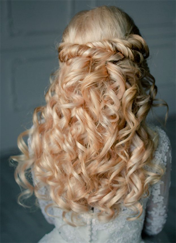 Bridal Updo for Long Hair