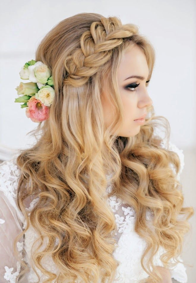 Braided Crown with Flowers