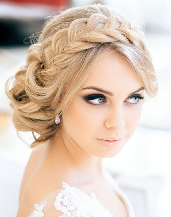 Braided Headband Updo
