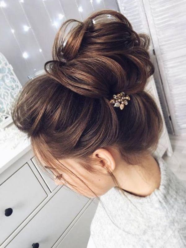 Bun Style Hairstyle
