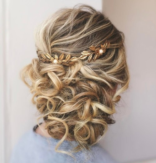 Wedding Hairstyle Ringlets: 25 Most Elegant Looking Curly Wedding Hairstyles