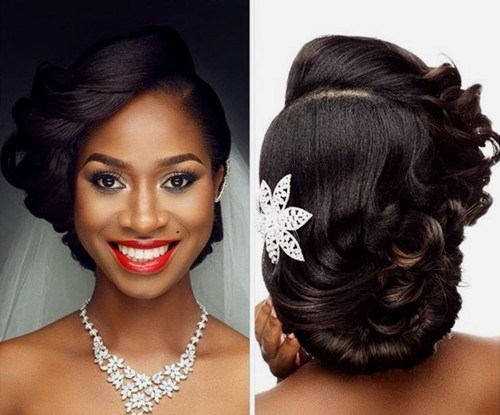 28 Black Wedding Hairstyles For Elegant Appearance