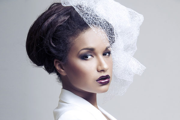 28 Black Wedding Hairstyles For Elegant Appearance Haircuts Hairstyles 2021