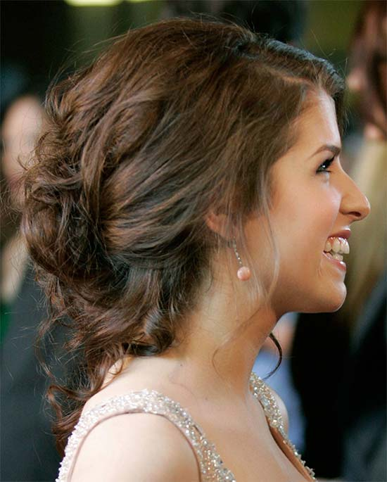 Casual Updo for Prom