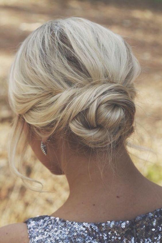 Easy Low Twisted Bun