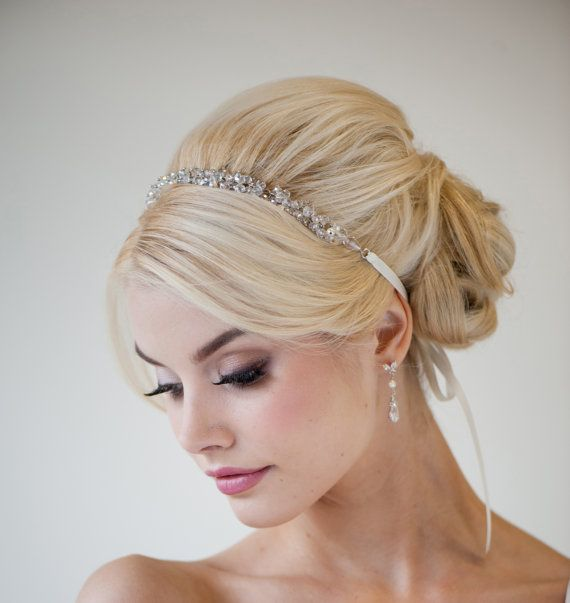 25 Most Coolest Wedding Hairstyles with Headband ... - photo #14