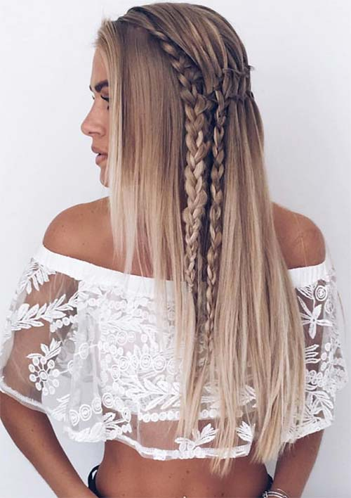Ladder Braids and Plaits