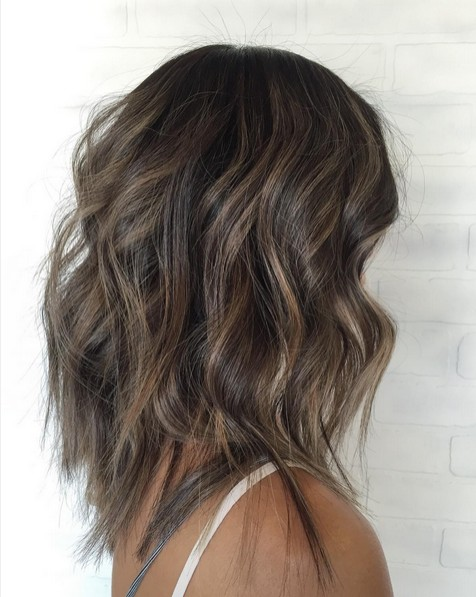 Layered and Highlighted Mid Length Waves