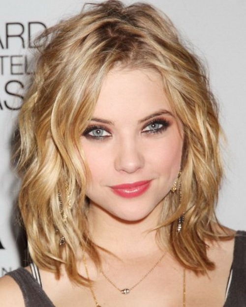 Medium Blonde Curls