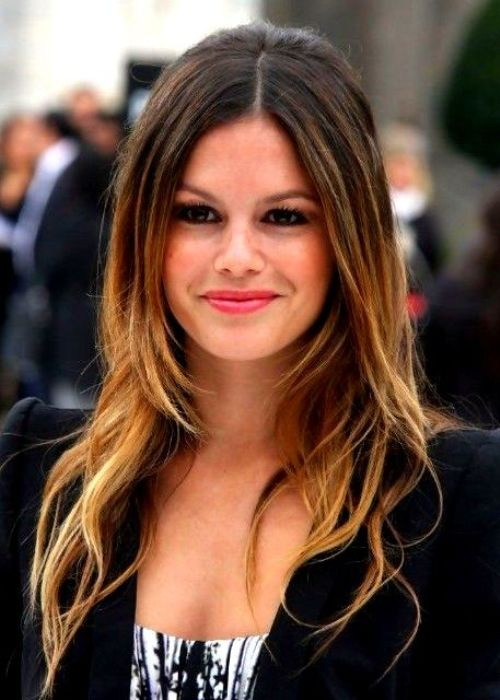 Long Ombre Haircut