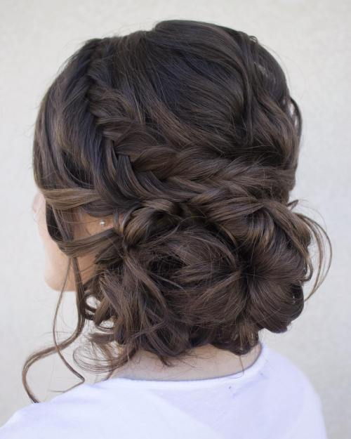 Loose Low Updo