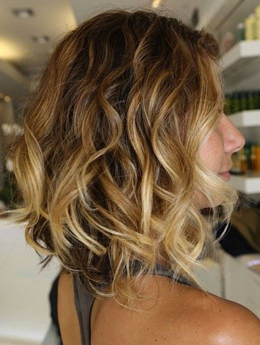 Ombre Bob with Layers