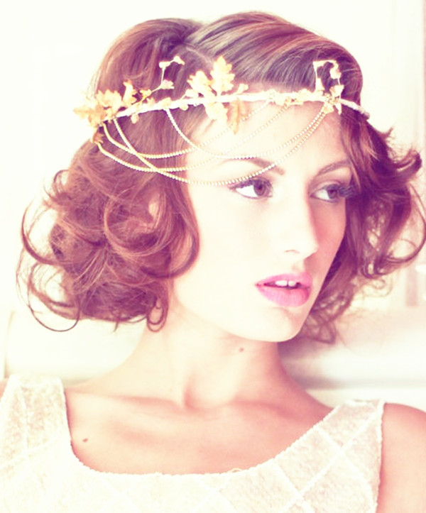 Wedding Hairstyle With Headband