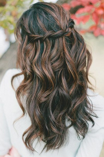 Waterfall Braid and Loose Waves