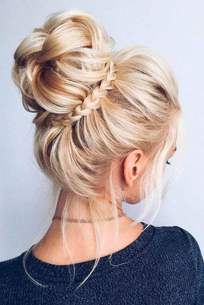 30 Medium Updo Hairstyles For Women To Look Stunning ...