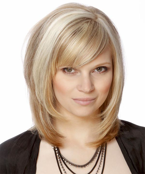 Face Framing Blonde Bob
