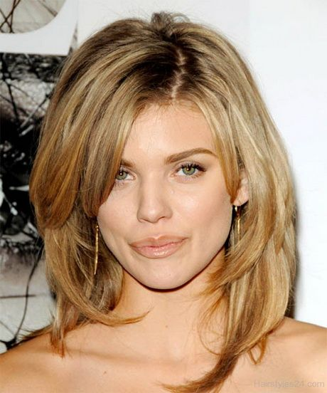 Medium Blonde Layered Hair
