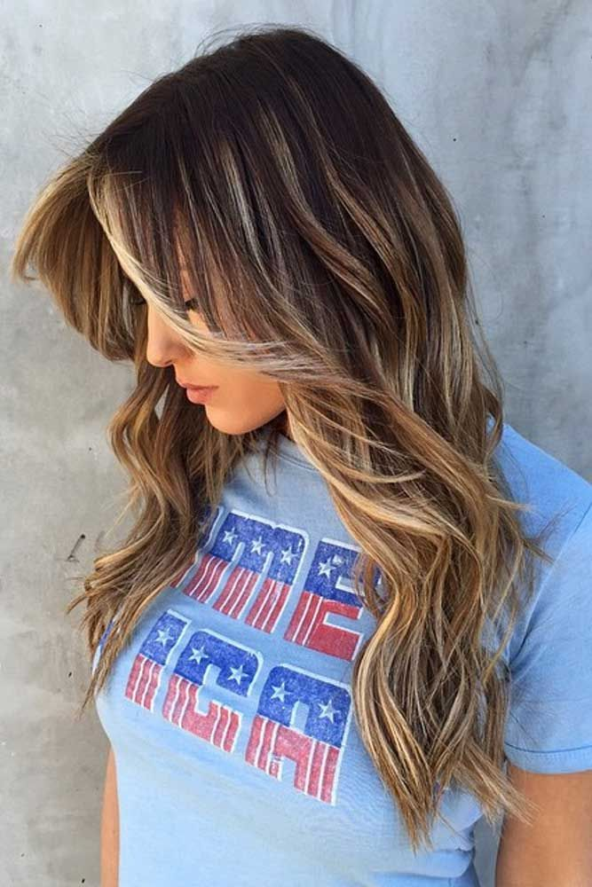 Long Balayage Wavy Hair