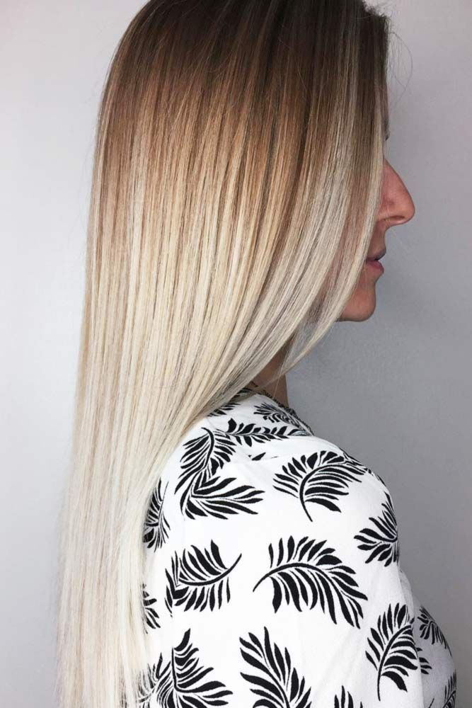 Long Sleek Hairstyle